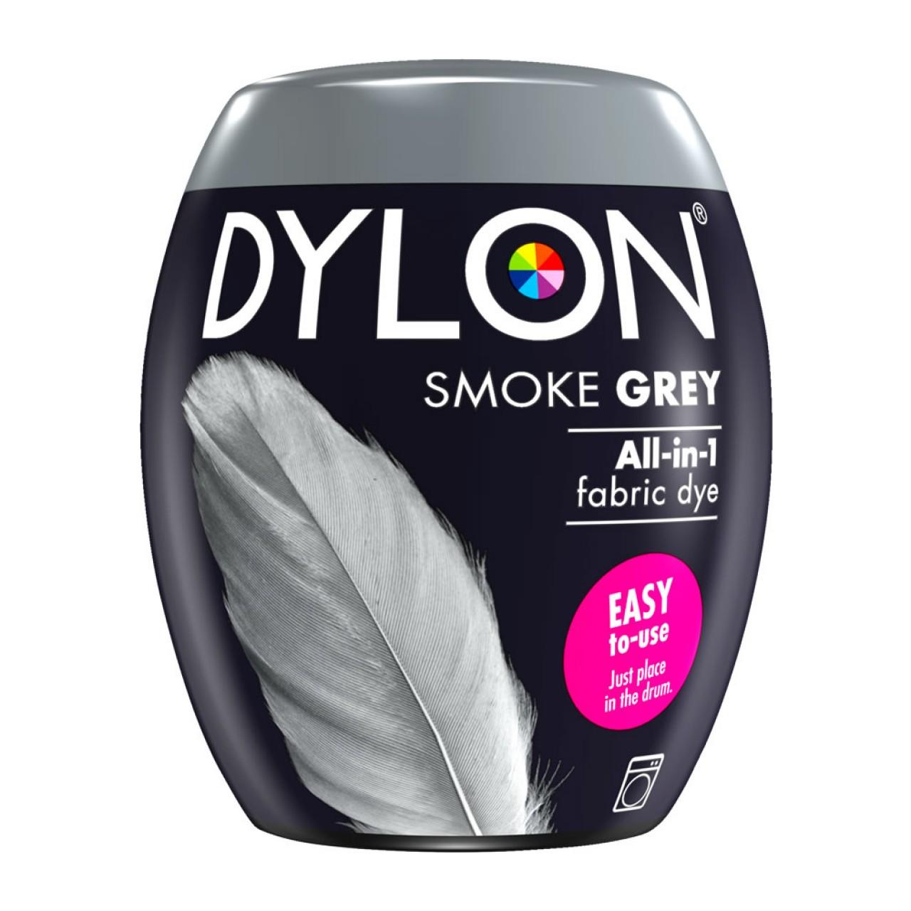 Βαφή Ρούχων - Υφασμάτων Πλυντηρίου 350gr Smoke Grey Dylon Dye - 3586