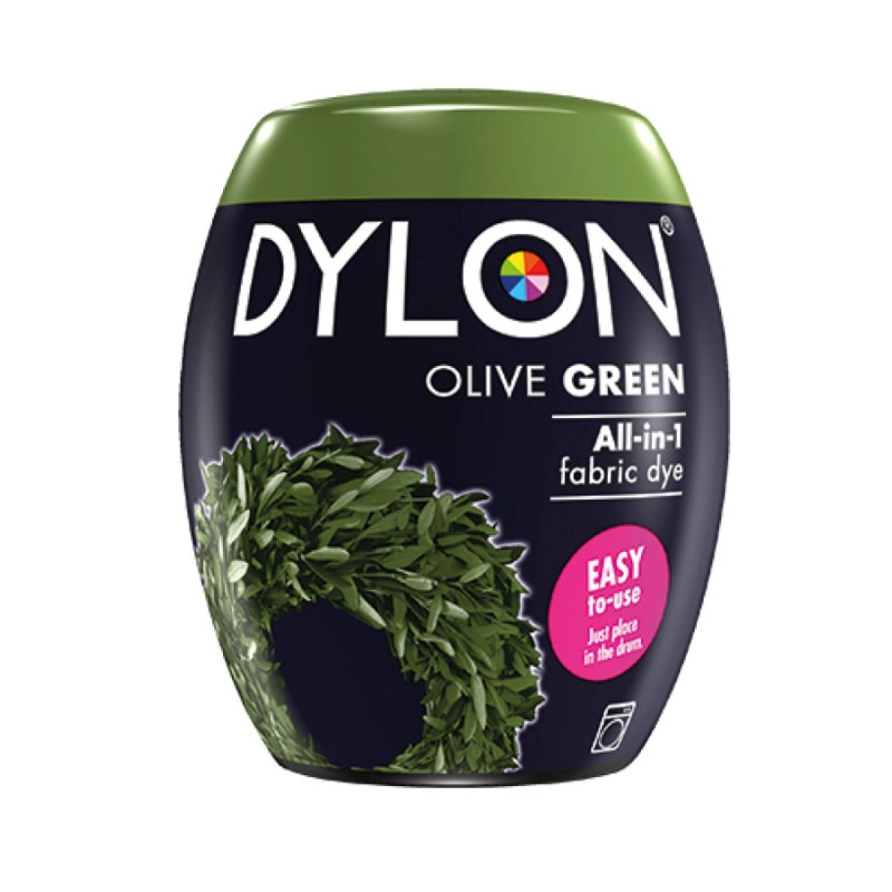 Βαφή Ρούχων - Υφασμάτων Πλυντηρίου 350gr OLIVE GREEN  Dylon Dye - 3670